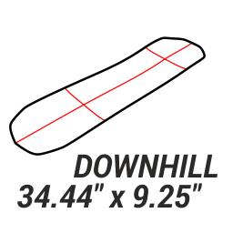 "Downhill 34.44\"""